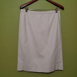 J Crew pencil skirt Ivory size 6 classic career